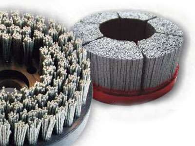 Brushes for aluminum alloys