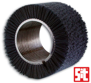 Electric-welded spiral brush by SIT Tecnospazzole manufacturer of industrial brushes
