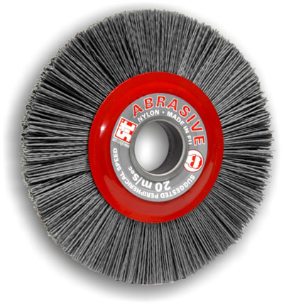 Wheel brush 4203 in Tynex abrasive nylon