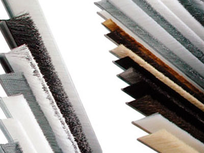 Strip brushes for industrial applications