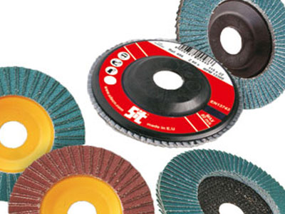 Flap Discs with Zirconium or Corundum